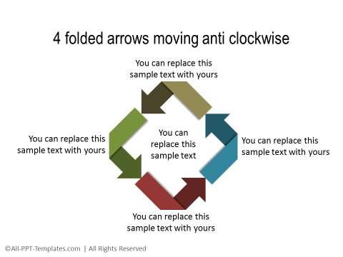 PowerPoint Circular Flow 07