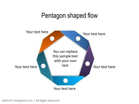PowerPoint Circular Flow 10
