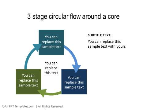 PowerPoint Circular Flow 28