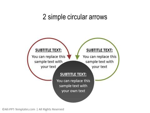 PowerPoint Circular Flow 32