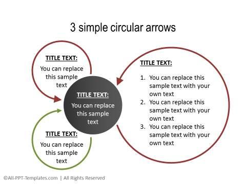 PowerPoint Circular Flow 35