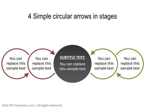 PowerPoint Circular Flow 37