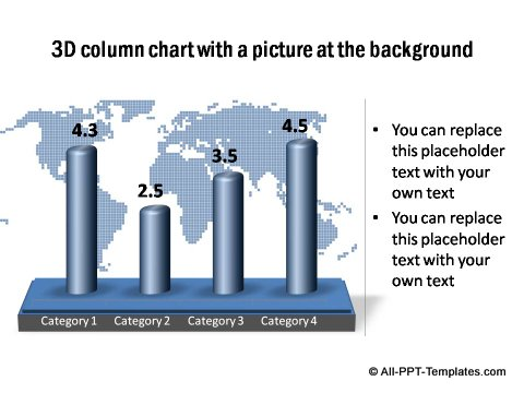 PowerPoint column chart 01
