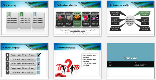 powerpoint creative education template, Modern powerpoint