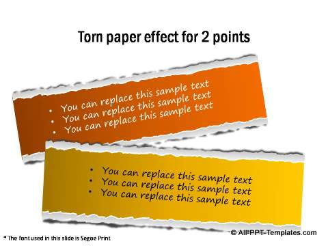 Creative Infographics Paper Effect