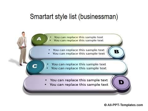 Smartart Style List