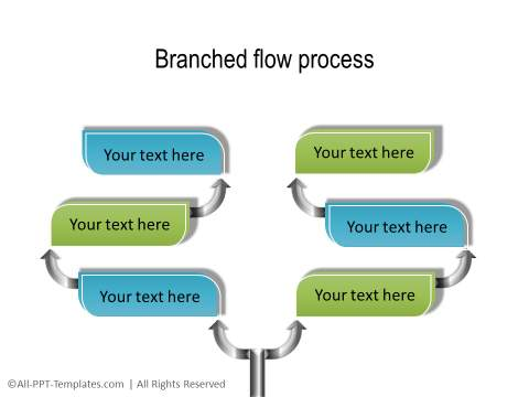PowerPoint Creative Process Flow 07