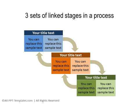 PowerPoint Creative Process Flow 10