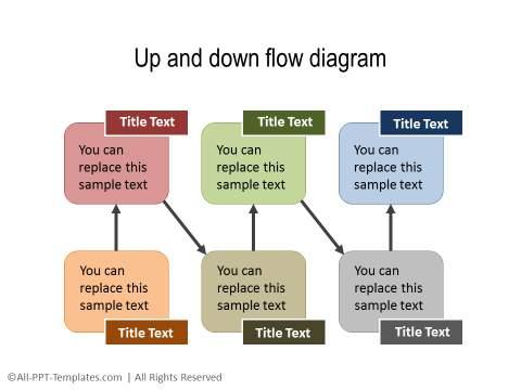 PowerPoint Creative Process Flow 13