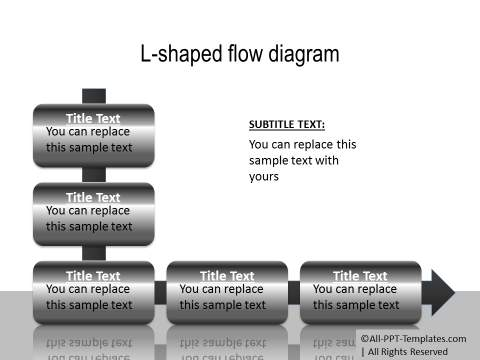 PowerPoint Creative Process Flow 16