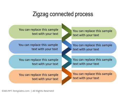 PowerPoint Creative Process Flow 21