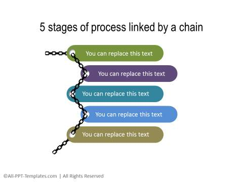 PowerPoint Creative Process Flow 23