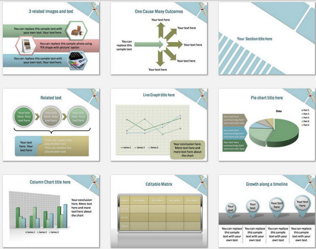 Distance Education Pptx Charts 2