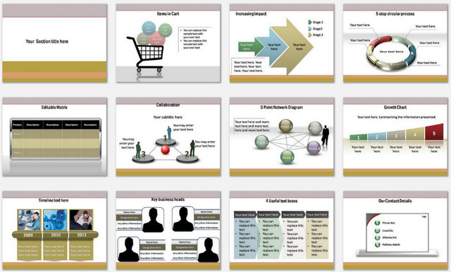 Marketing Strategy Powerpoint Presentation Slide Template   PowerPoint  Presentation Slides   PPT Slides Graphics   Sample PPT Files   Template  Slide SlideShare