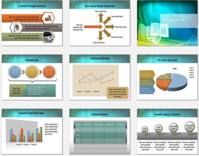 Enlightening Education Pptx Charts 2