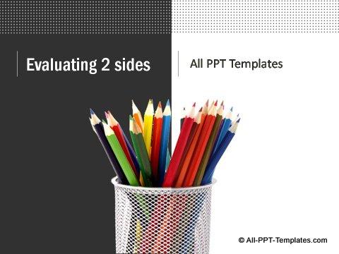 Market Evaluation Title slide