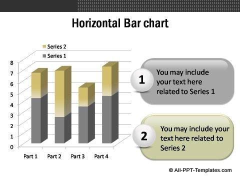 Market Evaluation Horizontal Bar Chart