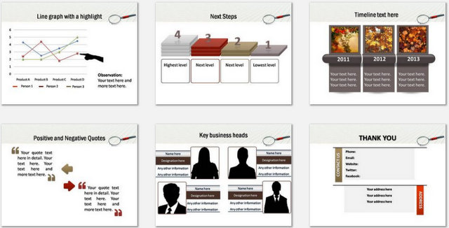 PowerPoint Evaluating Risk Charts 3