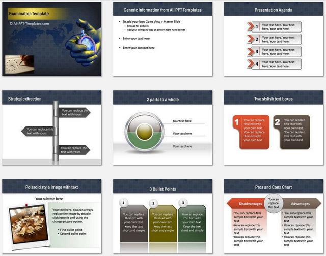 Examination Pptx Charts 1