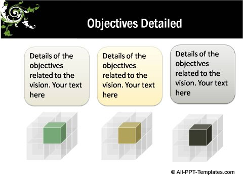 Floral Design Detailed Objectives slide