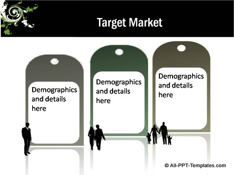 Floral Design Target Market Tags