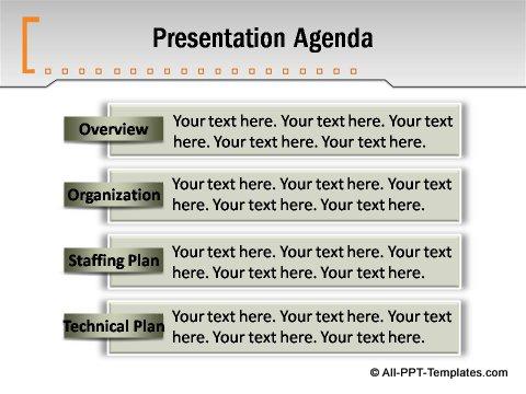 Pptx Formal Report Presentation Agenda
