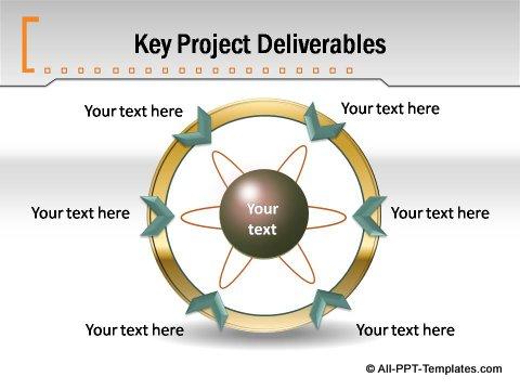 Pptx Formal Report  Circular Arrow Chart
