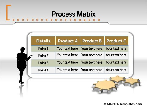 Pptx Formal Report Process Matrix