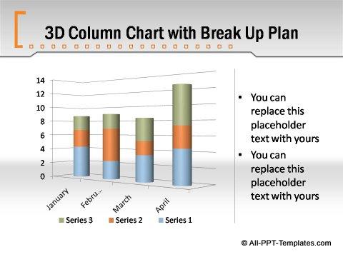 Pptx Formal Report  column chart