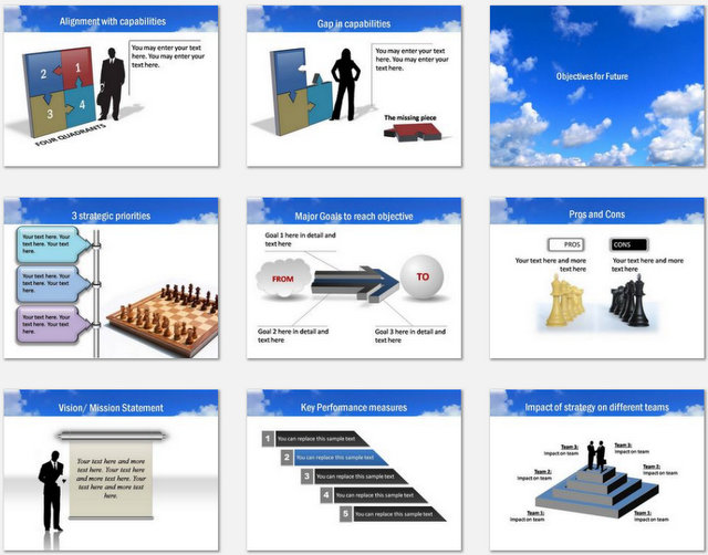 PowerPoint Future  Charts 02