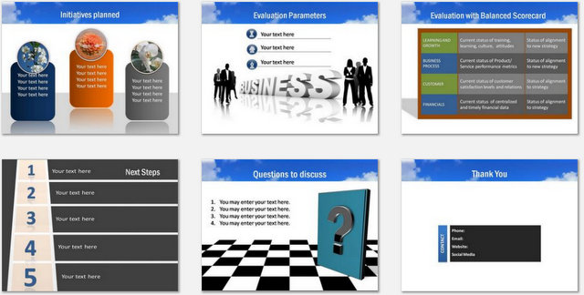 PowerPoint Future  Charts 03