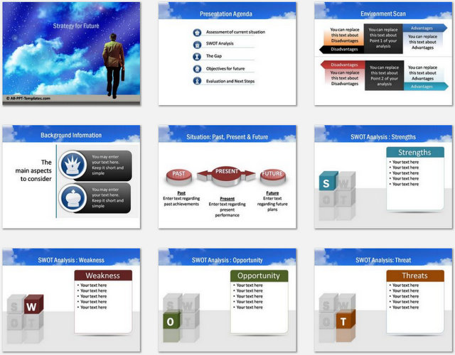 PowerPoint Future Charts 01
