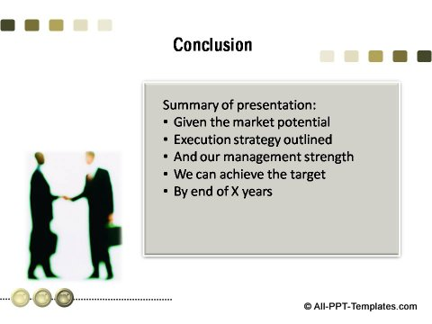 PowerPoint Business Game Plan 23