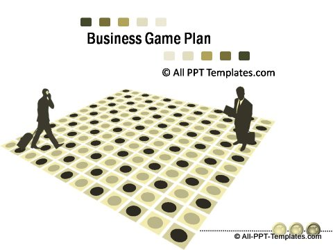 PowerPoint Business Game Plan 01