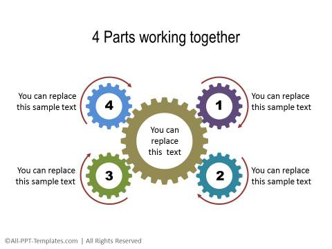 Powerpoint Gears Template Gear Powerpoint Templates Crystalgraphics