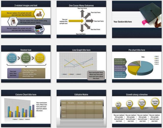 Graduation Pptx Charts 2