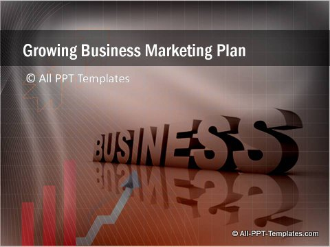 Business Growth Title slide