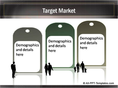 Business Growth Target Market Tags