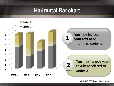 Business Growth Horizontal Bar Chart