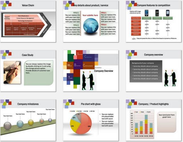 PowerPoint Handshake Charts 02