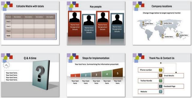 PowerPoint Handshake Charts 03