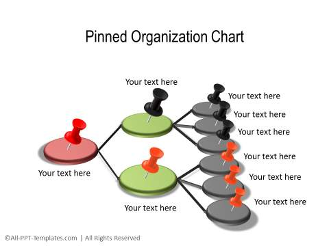 powerpoint hierarchy chart template .