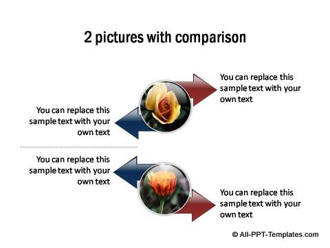 2 pictures with comparison