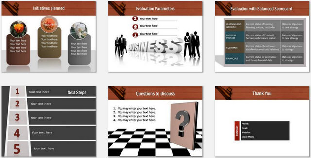 PowerPoint Key Business Idea Charts 03