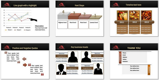 PowerPoint Law and Risk Charts 3