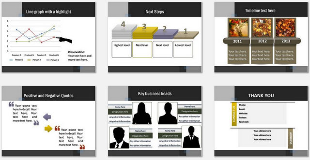 PowerPoint Legal Consulting Charts 3