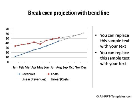 PowerPoint line graph 07