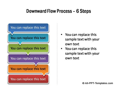 6 step download flow linear process.