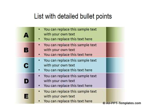 PowerPoint List 25