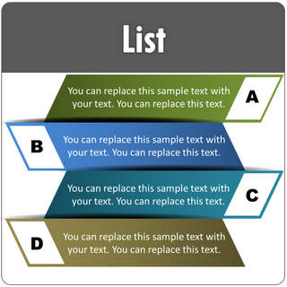 PowerPoint List template